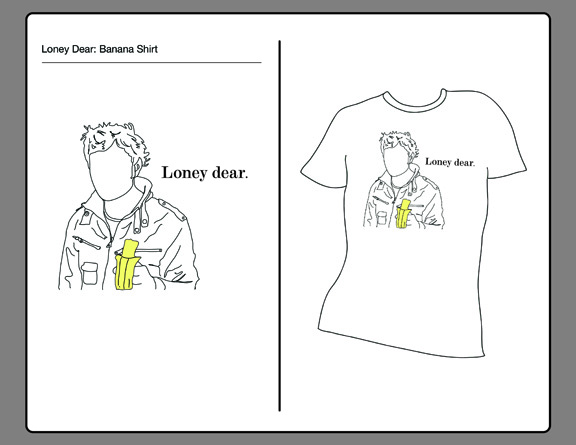 Loney Dear T-Shirt Design