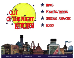 Out Of The Night Kitchen site